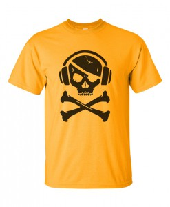 music-pirate-t-shirt