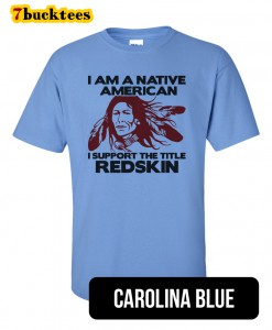 native-american-support-redskin-tshirt-carolinablue
