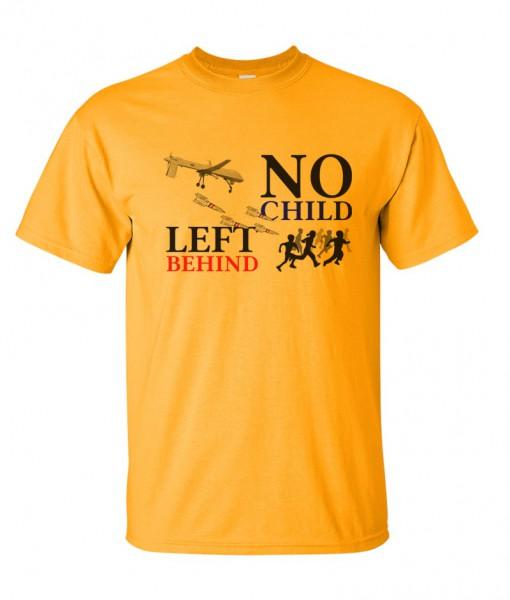 no-child-left-behind-drone-tshirt-gold